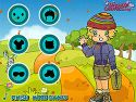 Hiking trail dressup - aiming game