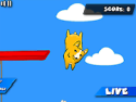 Puppy diving - aiming game