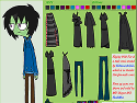 Dress up invader Zim - alien game