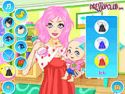 Baby mom dress up - baby game