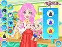 Baby mom dress up - babás játék