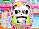 Baby panda care - baby game
