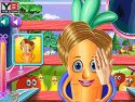 Vegetables at hair salon - boy game
