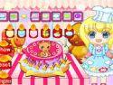 Cartoon cake - tortás játék