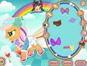Rainbow power Applejack - cartoon game