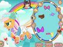 Rainbow power Applejack - rajzfilmes játék