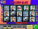 Frozen slot - kaszinó játék
