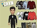 Dress up Zayn Malik - celebrity game