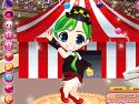 Acrobat circus girl dress up - circus game