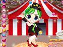 Acrobat circus girl dress up - cirkuszos játék