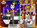 Trickster dress up - clown game