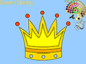 Crown coloring - coloring game