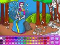 Forest princess - coloring game