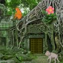 Abandoned monkey temple escape - szabaduló játék
