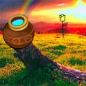 Escape from rainbow valley - szabaduló játék