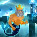 Poseidon save underwater world - escape game
