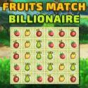 Fruits match billionaire - párkereső játék