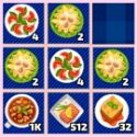 Yummy 2048 - matching game